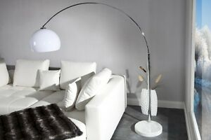 Stehlampe-Bogenlampe-LATE-LOUNGE-weiss-Marmor-Lounge-Design-Lampe-Leuchte-NEU