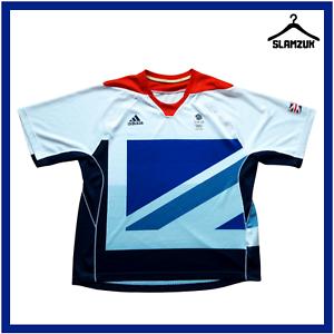 Adidas Team GB Football Shirt XL Jersey Olympics Great Britain London 2012 C62