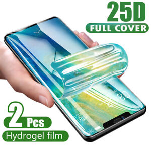 2X-Hydrogel-Screen-Protector-Film-For-Samsung-Galaxy-S9-S10-Note-8-9-10-Plus-UK