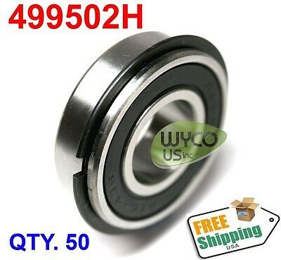 50 499502H NR SNAP RING  SEALED BALL BEARING 5//8 X 1-3//8 X .433 WIDE GO KART