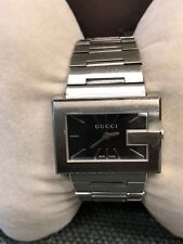 a0dae73cfe7 Gucci Ya100506 G-case 100G Series Stainless Steel Link Band Swiss ...