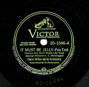 GLENN-MILLER-Orchestra-1943-Victor-20-1546-It-Must-Be-Jelly-Rainbow-Rhapsody