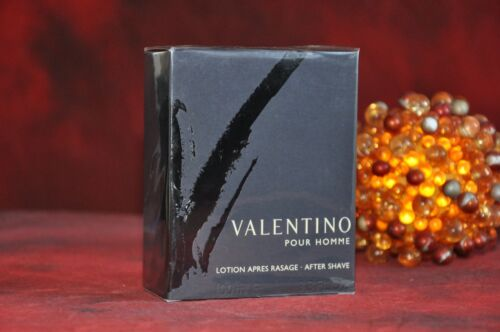 VALENTINO Pour Homme After Shave Lotion 100ml., DISCONTINUED, VERY RARE, Sealed