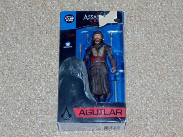 2016 McFarlane Toys Color Tops Assassin's Creed Aguilar MIB Brand New Fassbender