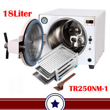 18l Dental Autoclave Sterilizer Vacuum Steam Sterilization Medical Trolley Cart