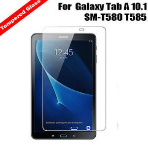 """New Explosion Proof Tempered Glass Screen Protector For Galaxy Tab A 10.1"""" T580 8438596089116"""