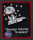 SNOOPY - RETURNS TO SPACE - NASA - 4