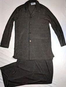 knoopsluiting maat 2 Maxi rok met bruin delige Slinky ontwerp Set Chico's vest wnAaq0xF
