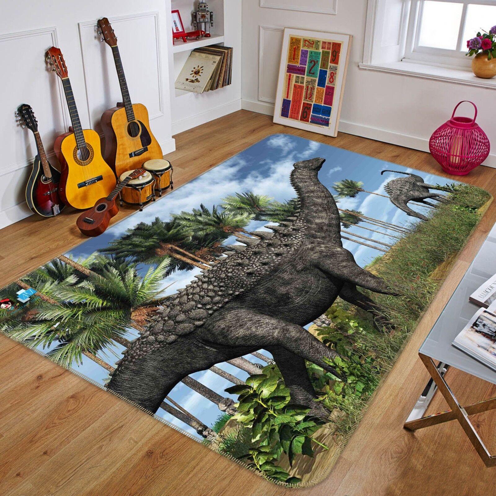 3D Dinosauro 0144 Pavimento Antiscivolo Tappeti Elegante Tappeto IT Cobb
