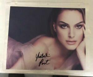 Natalie Portman Reprint Autographed Signed 8x10 Photo for