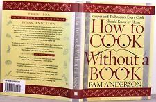 $25 HOW To COOK WithOut a BOOK for NOVICES & EXPERIENCED COOKS CookBook HC 2000