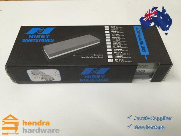 Nirey Whetstone H1013 3000 & 8000 Grit Knife Sharpening Stone
