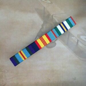 AASM 45-75, Queen's Vietnam Medal + National Anniversary Medal Ribbon Bar