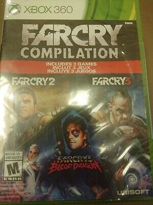 Far Cry Compilation Microsoft Xbox 360 2014 8888529071 Ebay