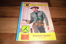 TIGER TEX  # 54 -- DREITAUSEND LONGHORNS // Ranger im Sonderauftrag Fred Preston