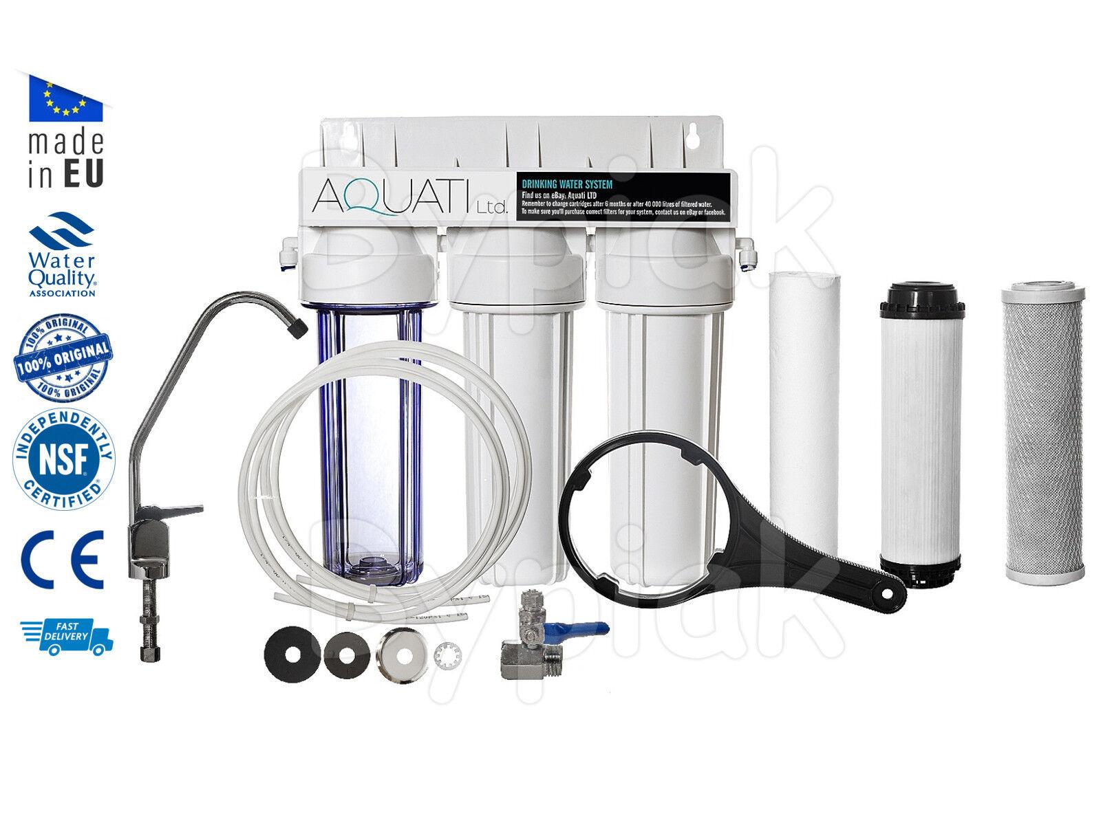 Eau potable filtre sous évier ramollissement System-sel libre