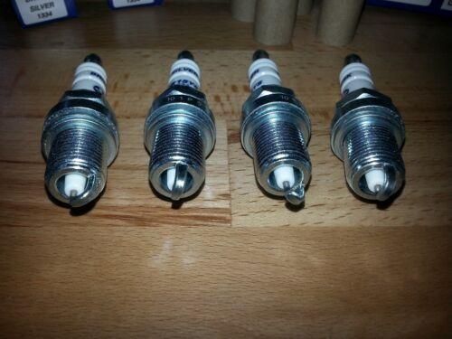 4x BMW X3 2.0i E83 y2005-2011 = vivaci YS elettrodo di argento aggiornamento CANDELE
