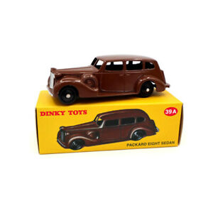 Atlas-1-43-DEAGOSTINI-Dinky-Toys-39A-Packard-Eight-Sedan-Diecast-Car-Models