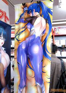 Taimanin-Yukikaze-Asagi-Lilith-Rinko-Akiyama-Pillow-Dakimakura-w-Poster