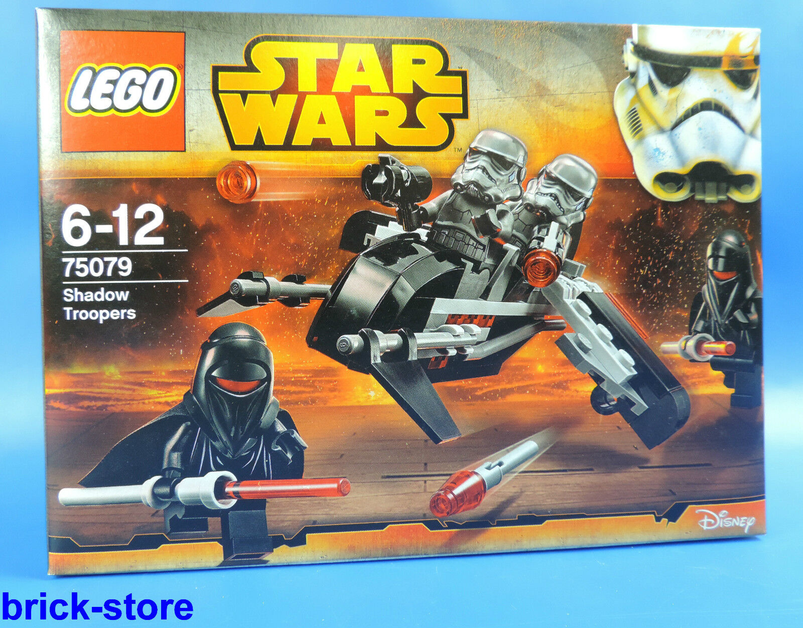 LEGO SET 75079  STAR WARS SHADOW TROOPERS Paquete De Basize