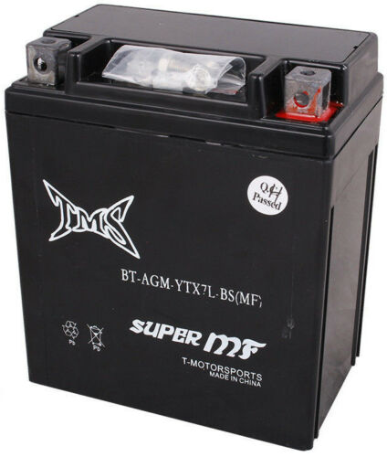 agm ytx7l-bs battery for suzuki dr350se 125 250 dr200 gz250 yamaha