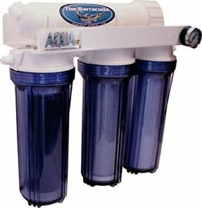 Aquafx 100 Gpd Barracuda Ro/di Aquarium Filter Fish & Aquariums Clear Reverse Osmosis & Deionization