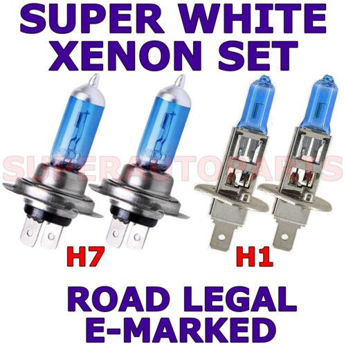 FITS CHEVROLET CAPTIVA 2007-ON   SET H1  H7  SUPER WHITE  XENON LIGHT BULBS