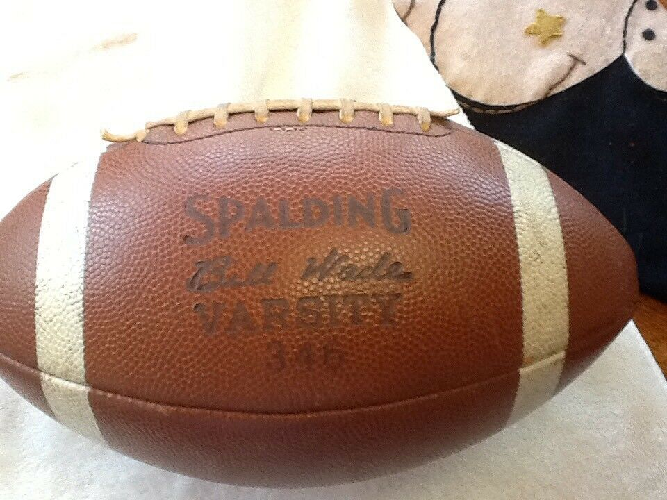Vintage Spalding Football - BILL WADE Varsity Model 346