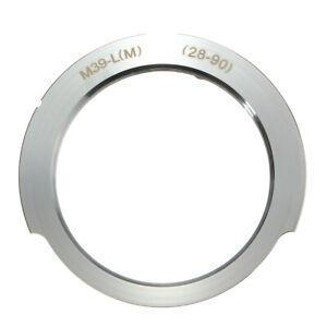 Camera Lens Mount Adapter 28-90mm For Leica Thread Screw Mount M39-L(M) LSM LTM