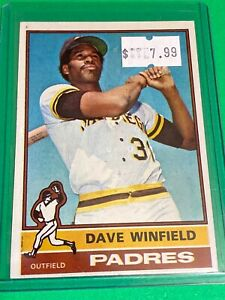🔥 1976 Topps Baseball Card Set #160 🔥 San Diego Padres DAVE WINFIELD 3rd Year