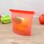 Reusable-Silicone-Kitchen-Fresh-Zip-lock-Bag-Food-Freezer-Storage-Ziplock thumbnail 13
