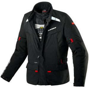 Genuine-Spidi-Men-039-s-Super-Hydro-H2OUT-Textile-Motorcycle-Jacket-Size-Medium