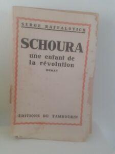 Schoura Serge Raffalovich Romanzo Guantone 1931 Edizione Del Tamburello