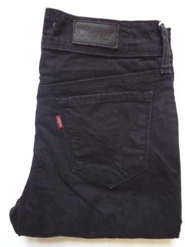 Slim 30 Strauss Levi's Levj732 L Donna W Jeans 471 Fit Nero 1w1pnftW
