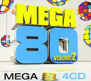 Compilation-4xCD-Mega-80-Vol-2-France-EX-EX