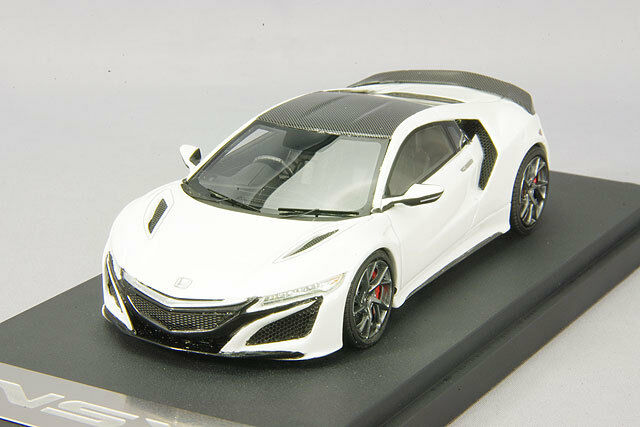 1/43 Mark43 Honda NSX 2016 manufacturer option vehicles equipped bianca PM4324SW