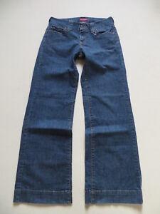 Levi-039-s-Marlene-Jeans-Hose-W-30-L-32-RAR-Wide-Leg-Denim-KULT-Schlaghose
