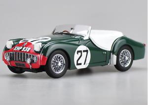 Kyosho 1 18 Alloy car model Triumph TR3S 1959 le mans Die casting model