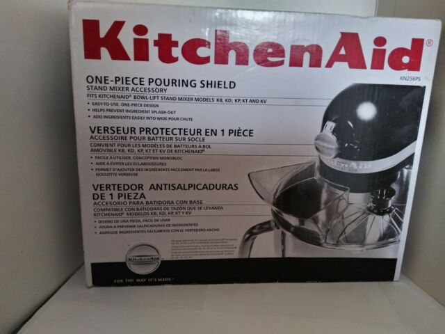 NEW KITCHENAID KITCHEN AID STAND MIXER ONE PIECE POURING SHIELD cooking baking