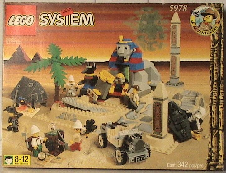 Nuevo Lego Aventureros 5978 esfinge secreta sorpresa Sellado