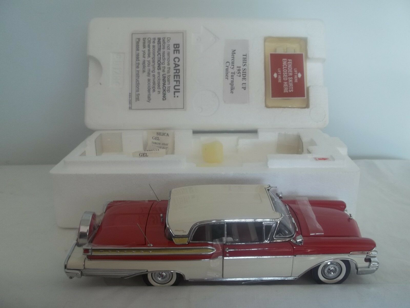 Danbury Mint 1957 Mercury Turnpike Cruiser 1 24 Mint & Boxed