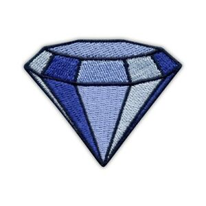 colorful Embroidered PATCH//BADGE Diamond sparkler