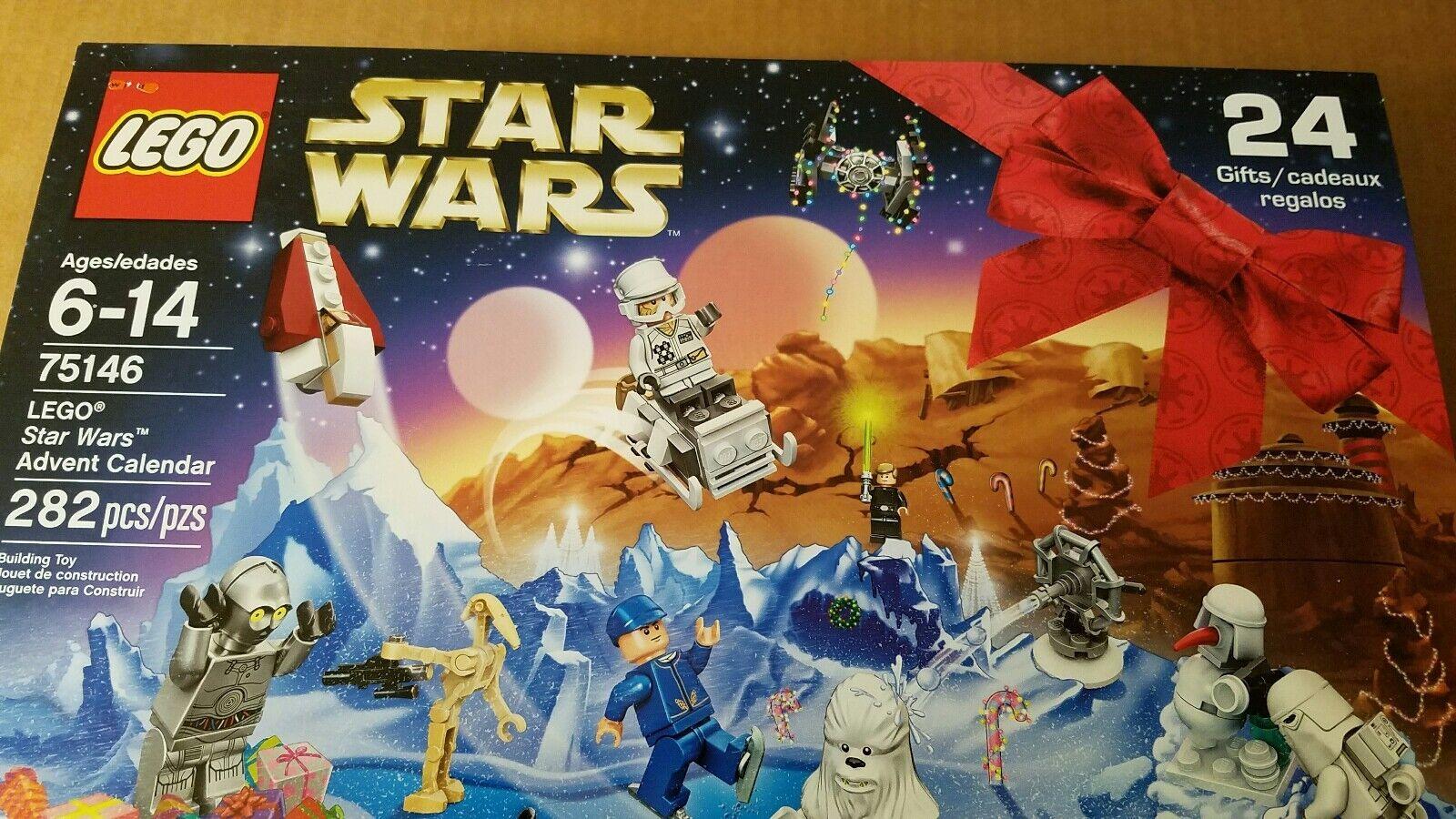 Lego Star Wars Advent Calendar 75146 New