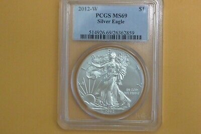 2011-W BURNISHED SILVER EAGLE ~ PCGS MS69 ~ FREE SHIPPING