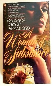 Barbara Taylor Bradford A Woman Of Substance Buy Books Online Book Discount Sale Ebay