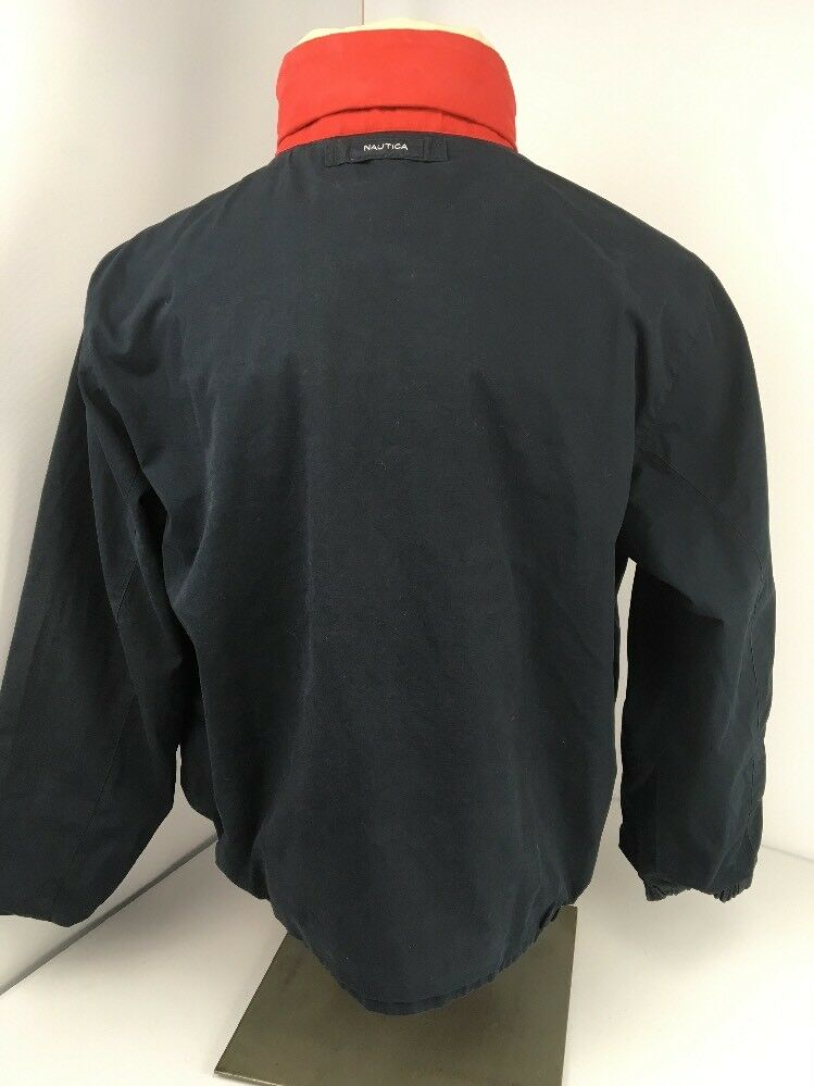 Nautica Jacket Vintage Reversible Bomber Men L La… - image 10
