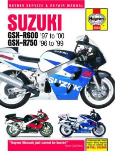 Suzuki GSX-R 600 750 1996-2000 New Haynes Workshop Manual Service ...