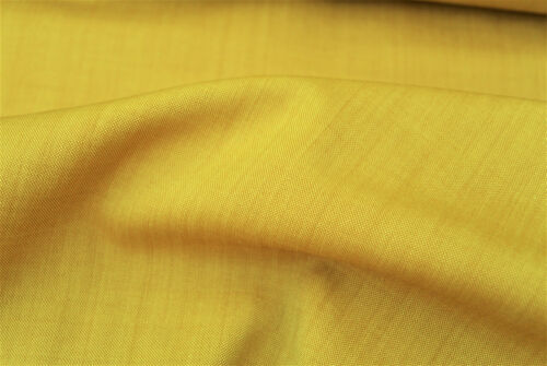 PURE WOOL /& SILK LIGHT BEIGE IRIDESCENT SUPER FINE TAILORING MADE IN ITALY E82N
