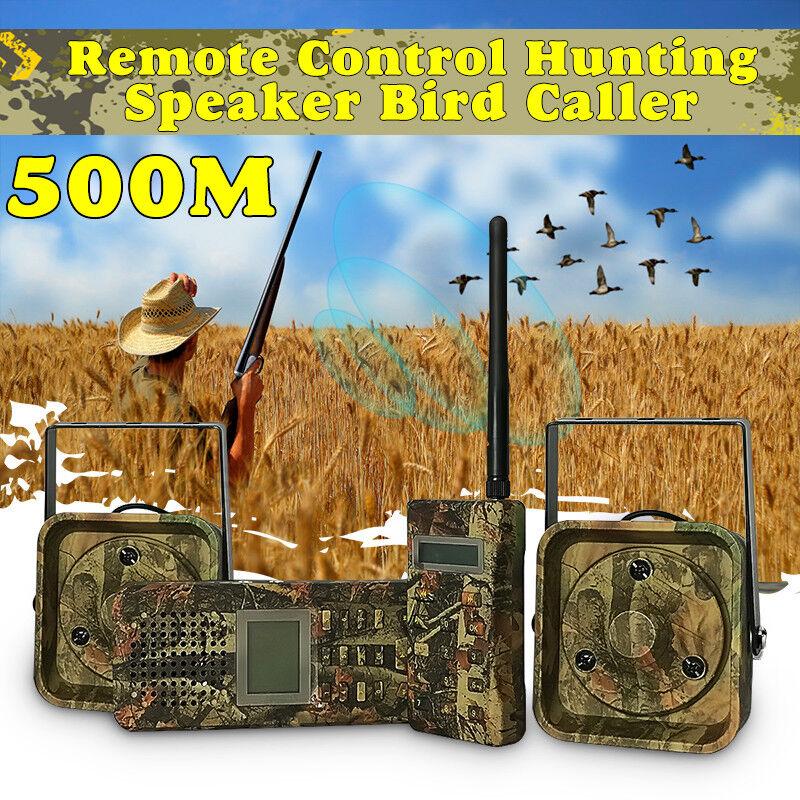Caza de aves Llamador Sonido 50W Speaker reproductor de Mp3 con control remoto 200