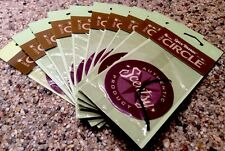 """Lot 10 Scentsy Scent Circle Hanging Air Fresheners """"Spice Bazaar"""" Car Home NIP"""
